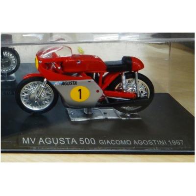 DEAGOSTINI model motorky AGUSTA 500 Giacomo Agostini 1967