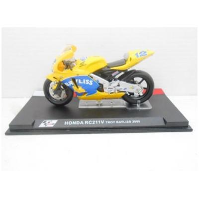 DEAGOSTINI model motorky GP HONDA RC211V Troy Bayliss 2005