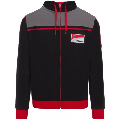 GP APARREL mikina DUCATI CORSE black / red