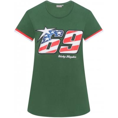 GP APPAREL triko NICKY 69 dámské green