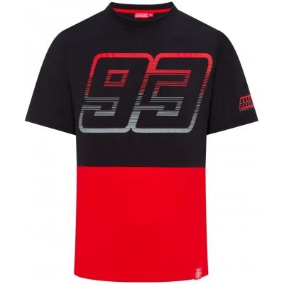 GP APPAREL triko MM93 black / red
