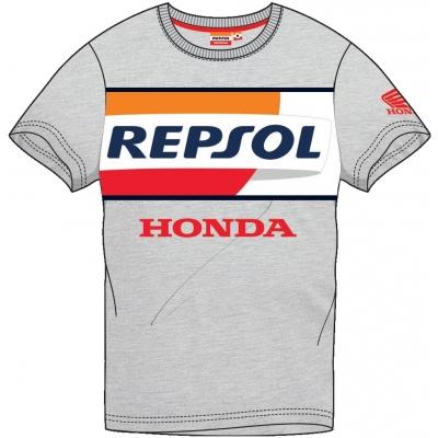 GP APPAREL triko REPSOL HONDA grey