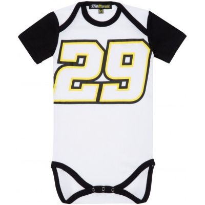 GP APPAREL body ANDREA 29 dětské white/black