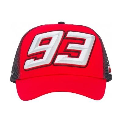 GP APPAREL kšiltovka MM93 red/grey