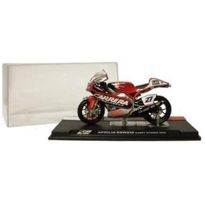 DeAgostini model motorky APRILIA RSW250 C.Stoner 2005