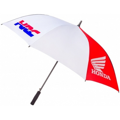 GP APPAREL deštník HONDA HRC white/blue/red