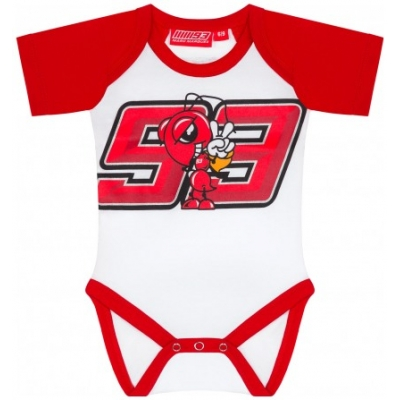 GP APPAREL body MM93 detské white / red