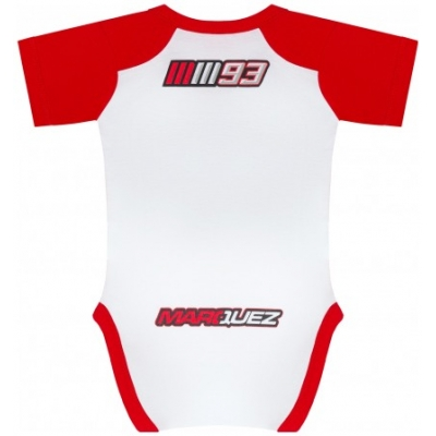 GP APPAREL body MM93 dětské white/red