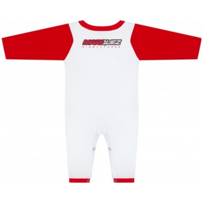 GP APPAREL overal MM93 detské white / red
