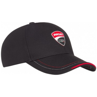 GP APPAREL kšiltovka DUCATI black