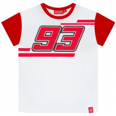 GP APPAREL triko MM93 HONDA detské white / red