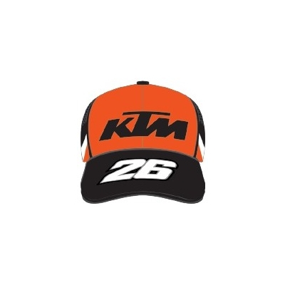 GP APPAREL kšiltovka DANI 26 KTM black