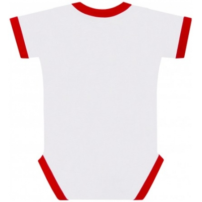 GP APPAREL body DUCATI dětské white/red