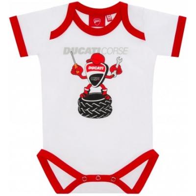 GP APPAREL body DUCATI dětské white/red