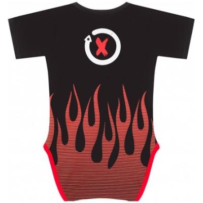 GP APPAREL body LORENZO detské black / red