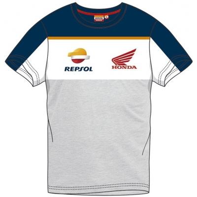 GP APPAREL triko REPSOL HONDA Racing blue / white / grey
