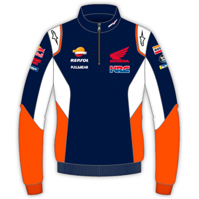 GP APPAREL mikina REPSOL HONDA Alpinestars blue/white/orange