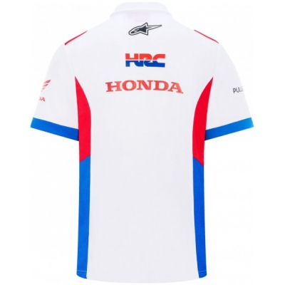GP APPAREL polotriko HRC Team white
