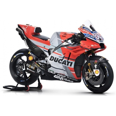 MAISTO model motorky DUCATI DESMOSEDICI DOVI 04 2018