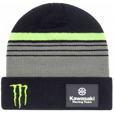 GP APPAREL čepice KAWASAKI black/green