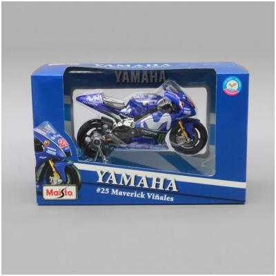 MAISTO model motorky YAMAHA YZR-M1 MV25 2018