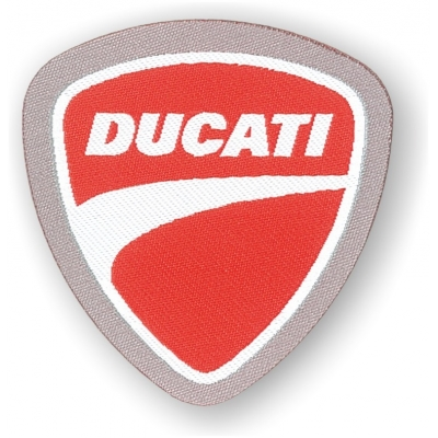 GP APPAREL nášivky DUCATI red/white