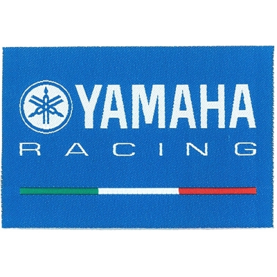 GP APPAREL nášivka YAMAHA blue/white