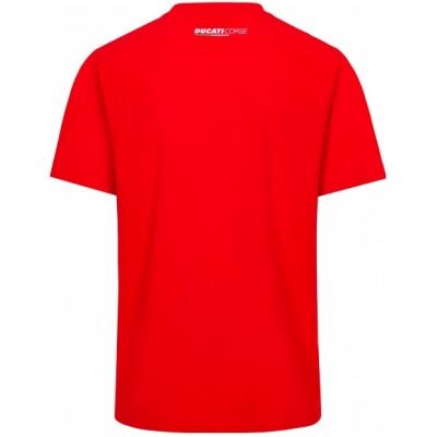 GP APPAREL triko DUCATI CORSE Logo and Stripes red