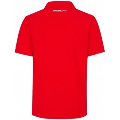GP APPAREL polo triko DUCATI CORSE black/white/red