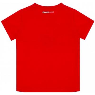 GP APPAREL triko DUCATI CORSE Stripes dětské triko red