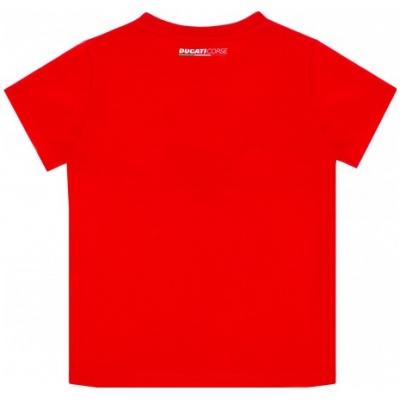 GP APPAREL triko DUCATI CORSE Mini Logo dětské triko red/black/white