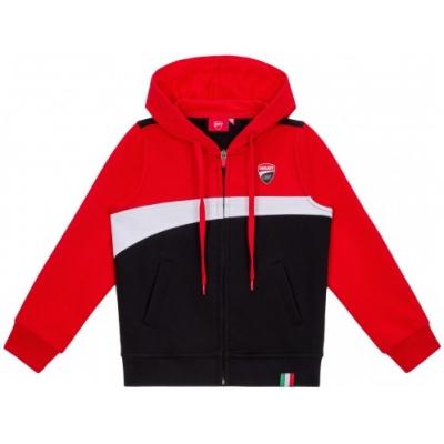 GP APPAREL mikina DUCATI CORSE dětská mikina red/black/white