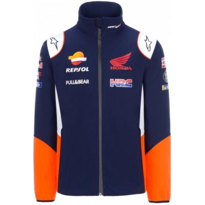 GP APPAREL bunda REPSOL HONDA Softshell blue / orange