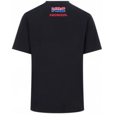 GP APPAREL triko HRC HONDA Big logo black