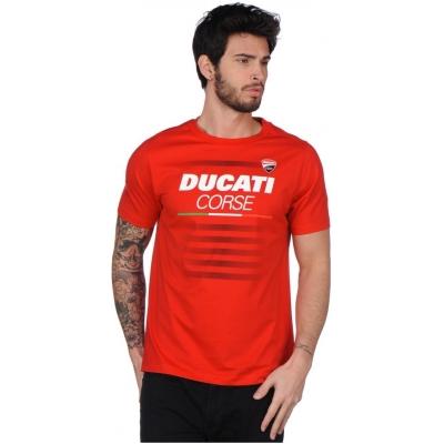 GP APARREL triko DUCATI CORSE red