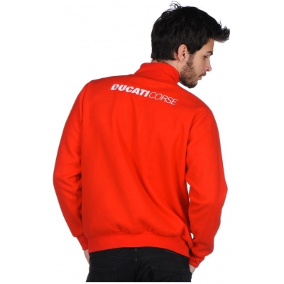 DUCATI CORSE mikina POLAR FLEECE red