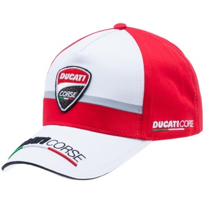 GP APPAREL šiltovka DUCATI CORSE SCUDETTO red