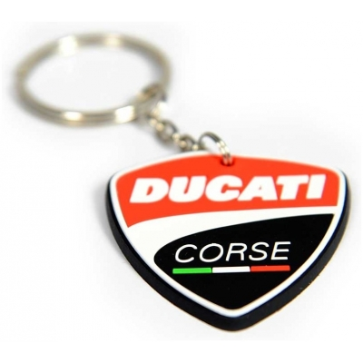 GP APPAREL klíčenka DUCATI CORSE multicolor
