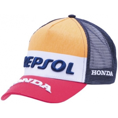 GP APARREL šiltovka REPSOL HONDA Trucker blue