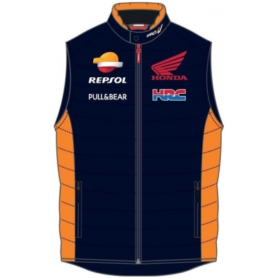 GP APPAREL vesta REPSOL HONDA blue
