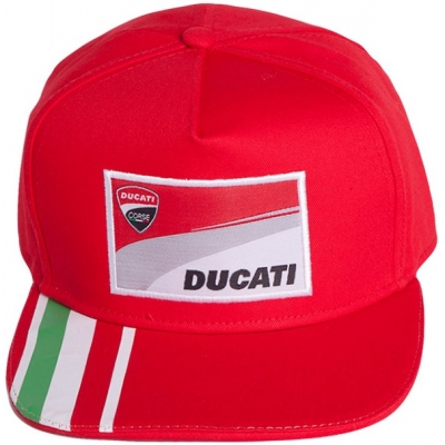 GP APARREL šiltovka DUCATI CORSE Tricolor red