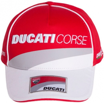 GP APARREL šiltovka DUCATI CORSE RACING red