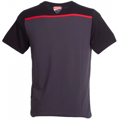 GP APARREL tričko DUCATI CORSE CONTRAST black