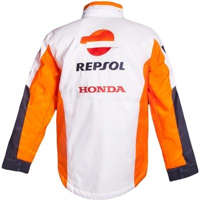 GP APPAREL zimní bunda REPSOL HONDA white