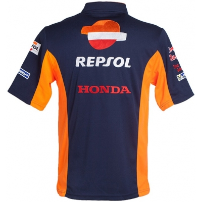 GP APPAREL polo tričko REPSOL HONDA blue