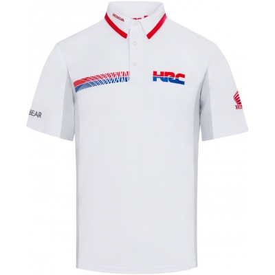 GP APPAREL polotriko TEAM HRC REPLICA white