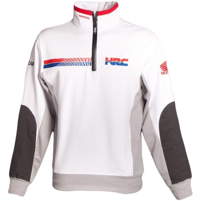 GP APPAREL mikina TEAM HRC REPLICA white