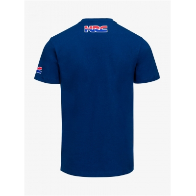 GP APPAREL triko HRC HONDA WING blue