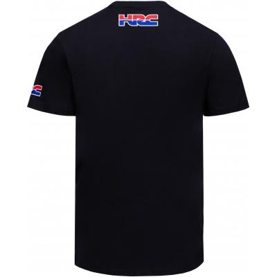 GP APPAREL triko HRC HONDA WING black