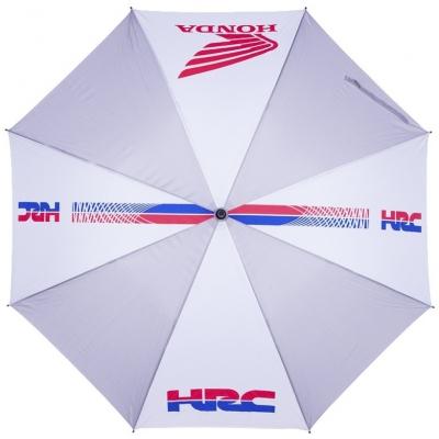 GP APPAREL deštník HRC HONDA white/grey